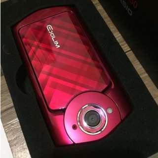 Casio TR 50 美拍神機-寶石紅