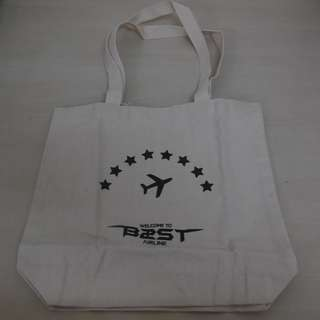 [LAST 1][CRAZY DEAL 90% OFF FROM ORIGINAL PRICE][READY STOCK]BEAST N2ST KOREA CONCERT OFFICIAL ECO BAG 1PC; ORIGINAL FR KOREA (PRICE NOT INCLUDE POSTAGE)PLEASE READ DETAILS FOR MORE INFO; POSLAJU:PENINSULAR AREA :RM10/SABAH SARAWAK AREA: RM15