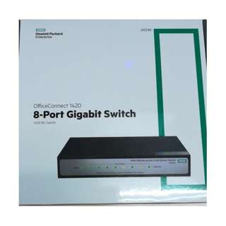 🚚 HPE OfficeConnect 1420-8G 8-port Gigabit Switch - Local Limited LifeTime Warranty