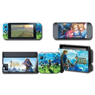 Nintendo Switch Decal Skin Zelda & Link