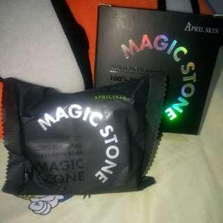 Magic stone April skin (Black) day cleansing