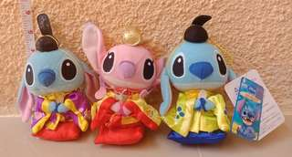 Stitch Japanese Korean Dress Stuff Toy