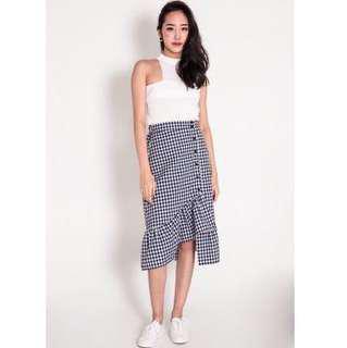 🚚 Ellington Ruffled Hem Skirt