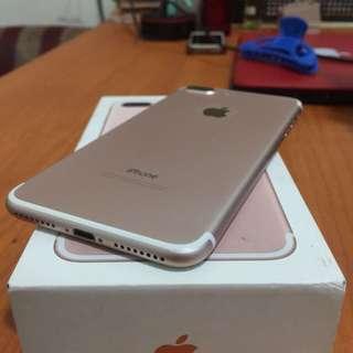 Iphone 7 Plus 128gb Warna Rose Gold Inter Ori Bisa Tt Alltype Hp