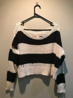 Hollister sweater off the shoulder