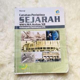 Sejarah Minat 3 SMA Buku Catatan peristiwa sejarah bailmu sejarah peminatan kelas 12 SMA