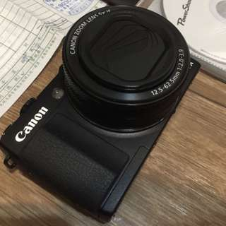 Canon G1X MarkII 類單眼相機