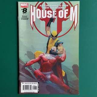 House of M No.8 comic