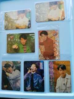 41張 黎明 Leon 特別yes卡 閃卡 90年代 歌手 yes card