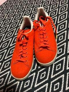 Pharrell x adidas Originals Stan Smith Tennis in Orange