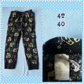 boys pajama 4t
