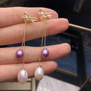 純銀極品天然珍珠