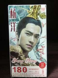 Yang Yang Postcard 杨洋明信片