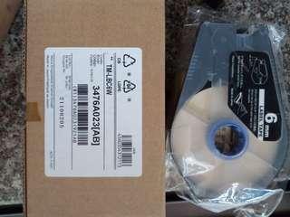 Canon 6mm label tape