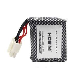 47.Hosim RC Cars Replacement Battery, 800mAh Li-ion Rechargeable Battery for 9112 9123 9123 RC Truggy High Speed Truck Accessory Supplies (3rd Version)