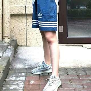 🚚 Adidas 夏日復古古著三條線嘻哈海灘短褲