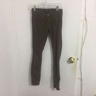 brown bdg corduroy pants