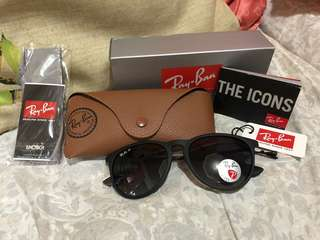 RAYBAN Erica matte shades ( Authentic)