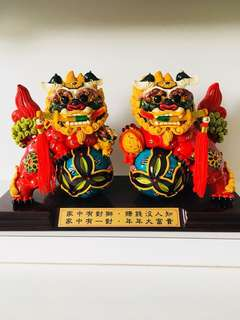 A pair of Chinese lion