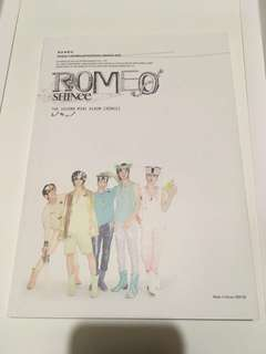SHINee second mini album Romeo