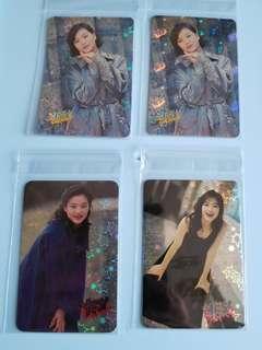 14張 特別yes卡  劉小慧 90年代歌手 閃卡 yes card