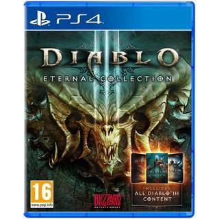 [NEW NOT USED] PS4 Diablo III: Eternal Collection Sony PlayStation Blizzard Action RPG Games