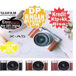 Fujifilm X-A5 KIT 15-45mm Resmi-Cash/Kredit Dp 1jt Ditoko Call/Wa;081905288895