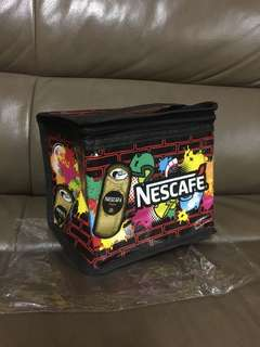 BRAND NEW NESCAFE TIN COOLER BAG FOR 6 TINS LIMITED EDITION