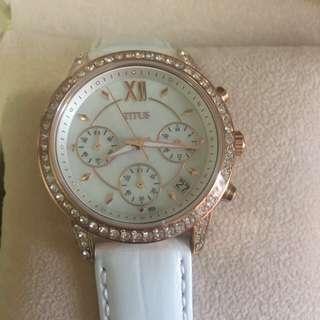 鐵達時 SOLVIL et TITUS 女裝皮帶腕錶