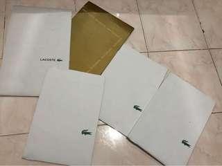 Lacoste boxes