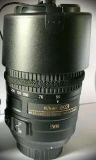 AF-S NIKKOR 55-300mm VR Nikon Lens