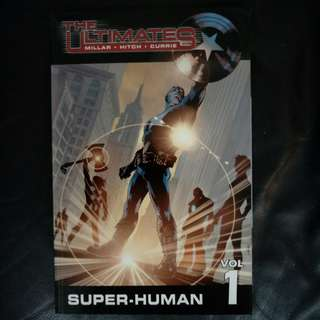 Marvel Comic The Ultimates Vol 1 - Super-Human 2006 TPB by Mark Millar, Bryan Hitch &  Andrew Currie