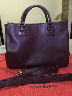 Repriced 🌈🌈 Weekend Sale 🌈🌈 Everything Must Go 🌈🌈 Tory Burch Robinson Double Zip Tote