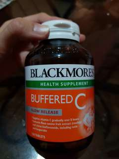 🚚 Blackmores Buffered C (120 tablets)