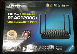 🚚 WiFi AP  華碩RT-AC1200G+Plus