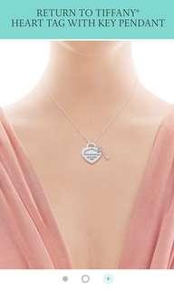 Heart tag with key pendant (Tiffany & Co)