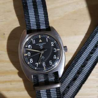 1974 Hamilton 6bb RAF military watch not rolex omega iwc seiko 軍錶