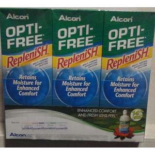 Alcon Opti-free Replenish lens solution