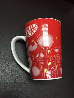 Nestle kit Kat cup ( big ) red ( new )
