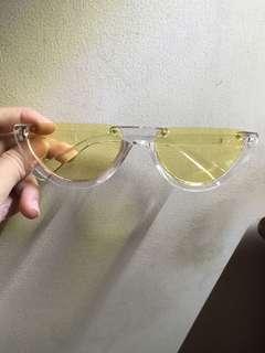 Yellow eyewear