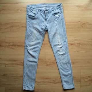 Zara Light wash Skinny Jeans