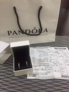 Original Pandora Signature Hoop Earrings