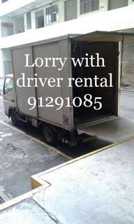 Lorry with driver rental