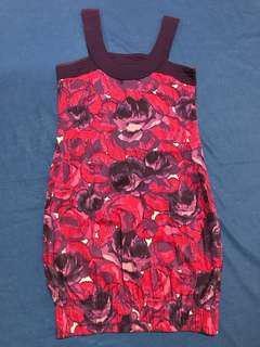 Plains & Prints Violet Dress