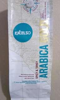 【全新*店主推介*可代磨】Indonesia Brand Excelso 原粒印尼精品咖啡豆 200g Arabica Coffee Bean