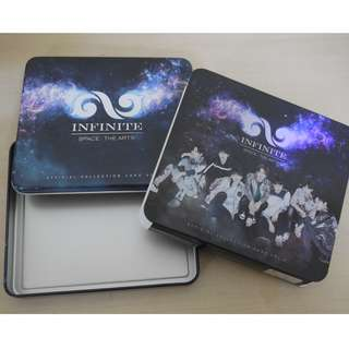 [EMPTY BOX][CRAZY DEAL 90% OFF FR ORIGINAL PRICE][READY STOCK]INFINITE KOREA OFFICIAL EMPTY BOX 1PC; ORIGINAL FR KOREA (PRICE NOT INCLUDE POSTAGE)PLEASE READ DETAILS FOR MORE INFO; POSLAJU:PENINSULAR AREA :RM10/SABAH SARAWAK AREA: RM15
