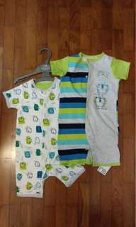 Brand New - 2 Sleep Suits for 12-18 months
