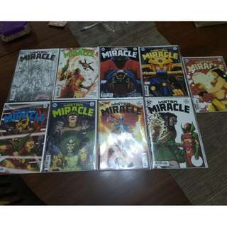 MISTER MIRACLE #1 TO 9