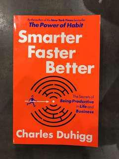 🚚 Smarter faster better Charles duhigg