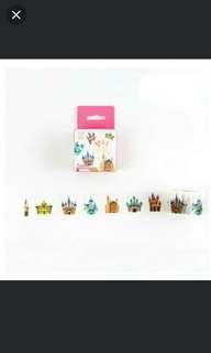 Fairytale castle Washi tape